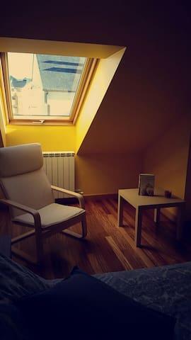 Apartamento Casa de Baixo con Atico - Sarria - Wohnung