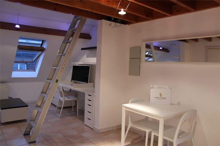 Duplex studio central Ghent - Ghent - Apartamento