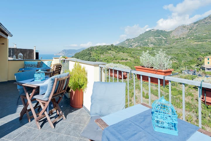 Tavernetta,  kitchen,wi-fi,CarPark - Corniglia - Apartment
