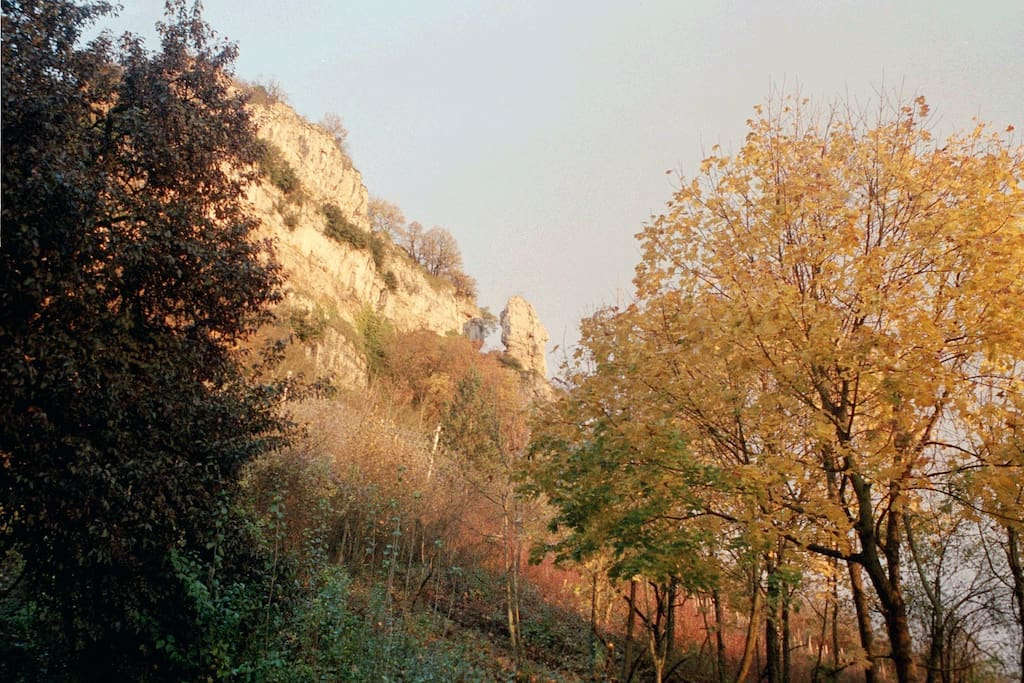 le rocher de la Pouponne