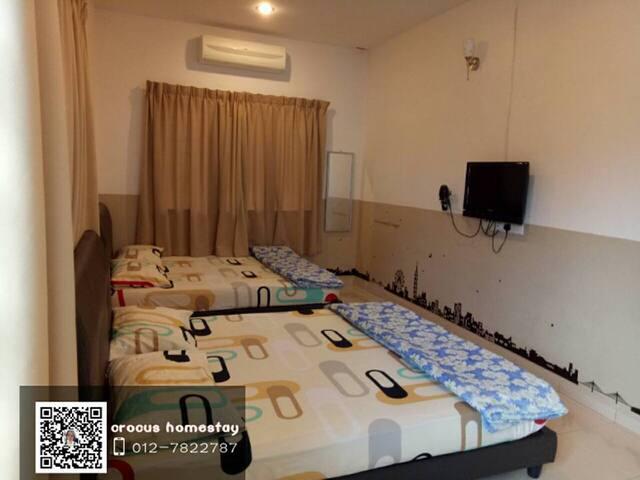 CROCUS HOMESTAY IPOH (ROOM 2) - Perak - Apartment