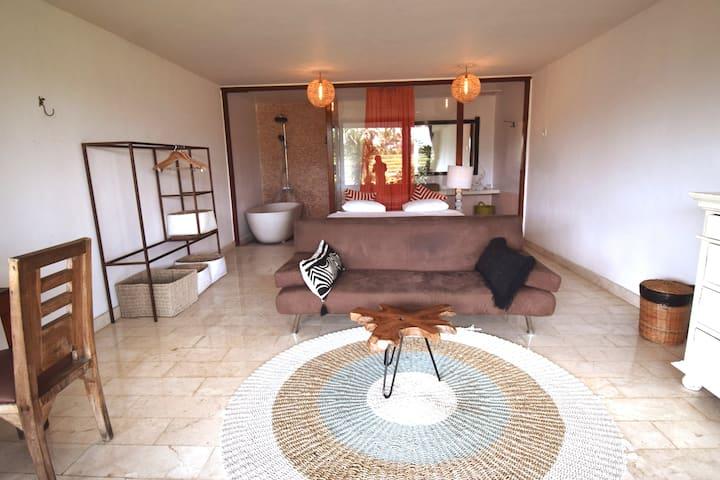 Deluxe Garden Room with Rice Field Views