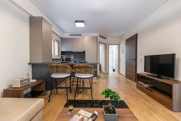 Cozy One-Bedroom Apartment | Olygreen Athens