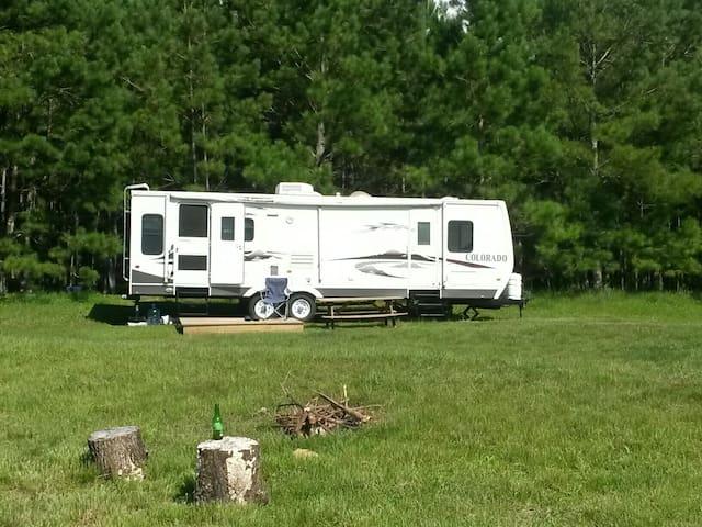 Camper on 60 Acres
