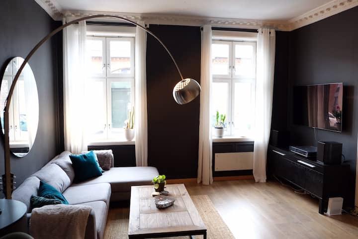 Beautiful designer apartment at Grünerløkka.