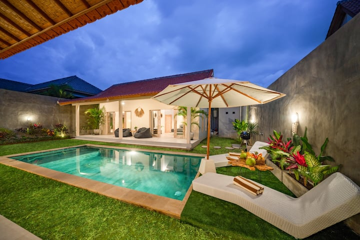 19mio /MONTH /ALL IN/ 3BDRM *PRIVATE VILLA*CANGGU