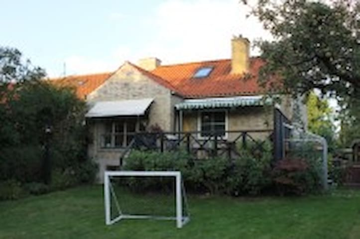 Townhouse with garden close to Lyngby & Copenhagen