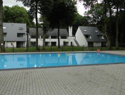 Hytte Hengelhoef - Berk108   i rolig naturpark