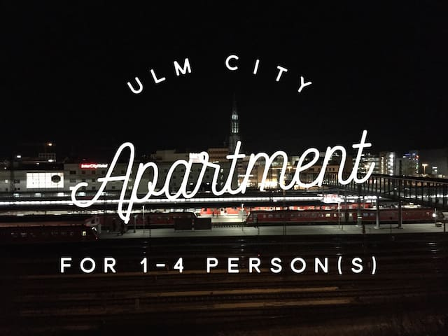 Ulm City Full Apartment 1-4 Persons - Ulm - Apartament