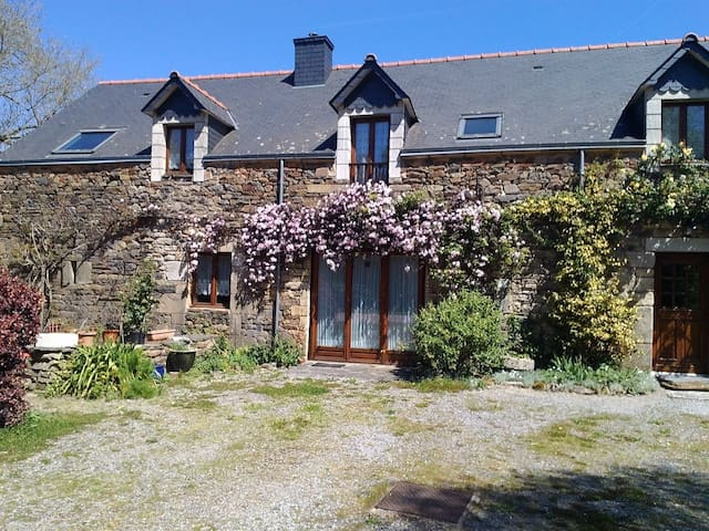 Chene Cottage, Pluherlin near Rochefort-en-Terre - Pluherlin - Talo