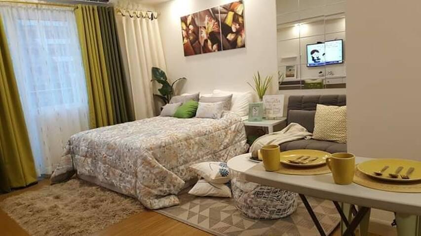 Modern Scandinavian home @Grace Residences