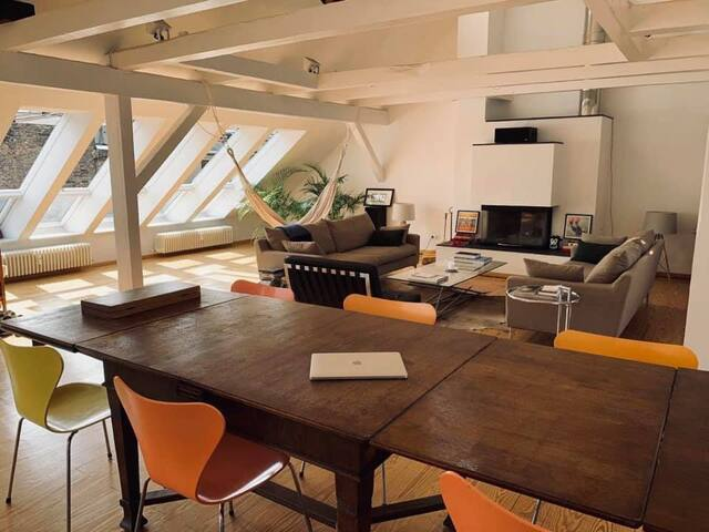 Design Penthouse in Berlins hippest street.