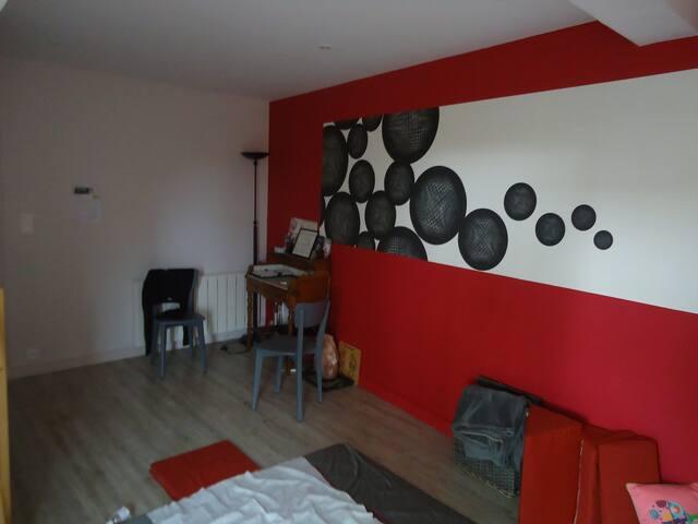 Logement centre bourg 15 m centre Rennes/Parc expo