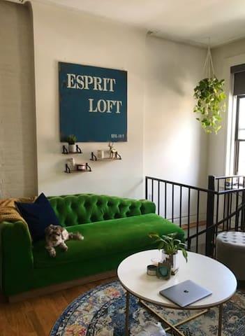 New York City duplex located in Chelsea!