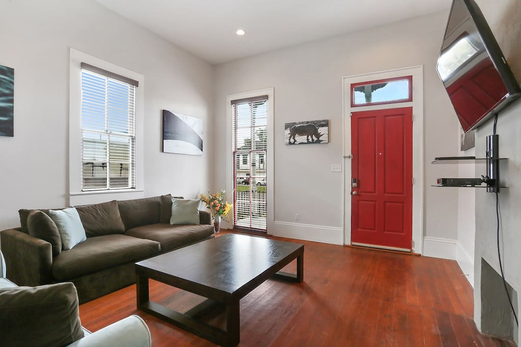 Historic apt 1 mile from french quarter apartments for - 2 bedroom apartments in new orleans east ...