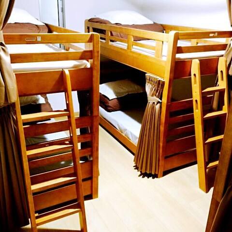 [距大阪西九条站徒步5分钟]2层日式旅馆(设定的床费包含清洁费,不另外收取) - Konohana Ward, Osaka - Dormitori compartit