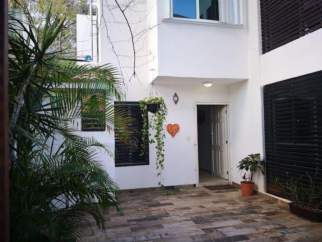 Trendy house in Playa del Carmen