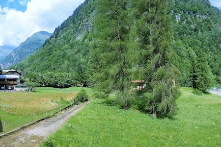 TheBearHouse just few minutes walk from the lifts - Alagna Valsesia - Wohnung