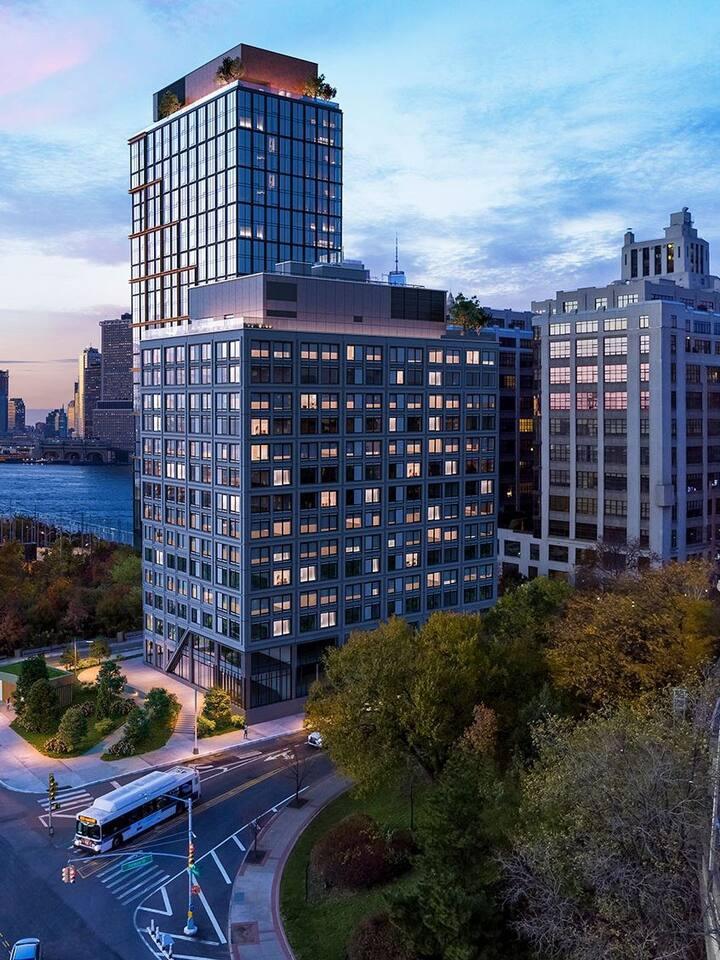 Beautiful 1bd apartment on Brooklyn Bridge Park