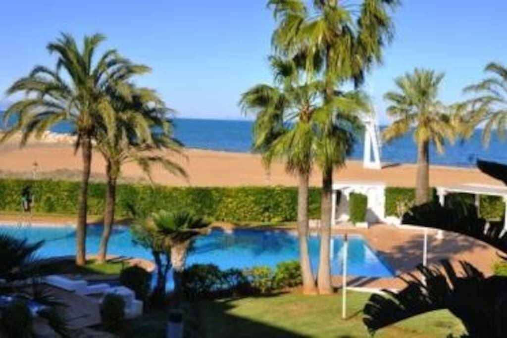 Luxury Appartment In Front Of Beach Flats For Rent In D 233 Nia Comunidad Valenciana Spain