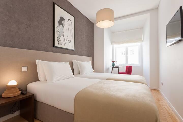 Rossio Prime Suites - Twin Room