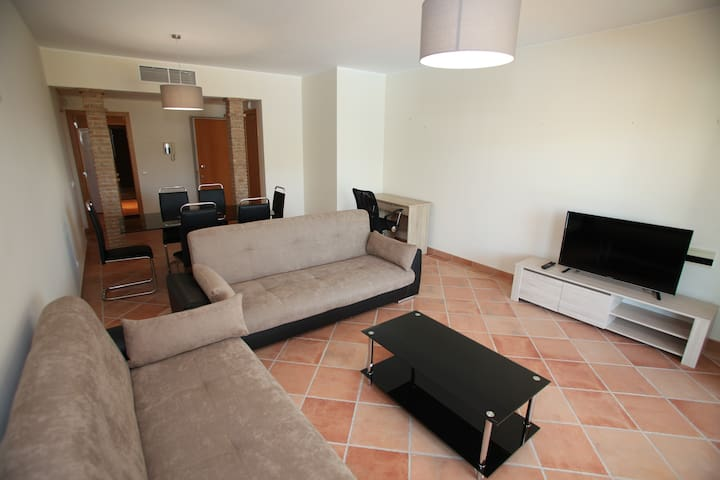 A modern two bed apartment V