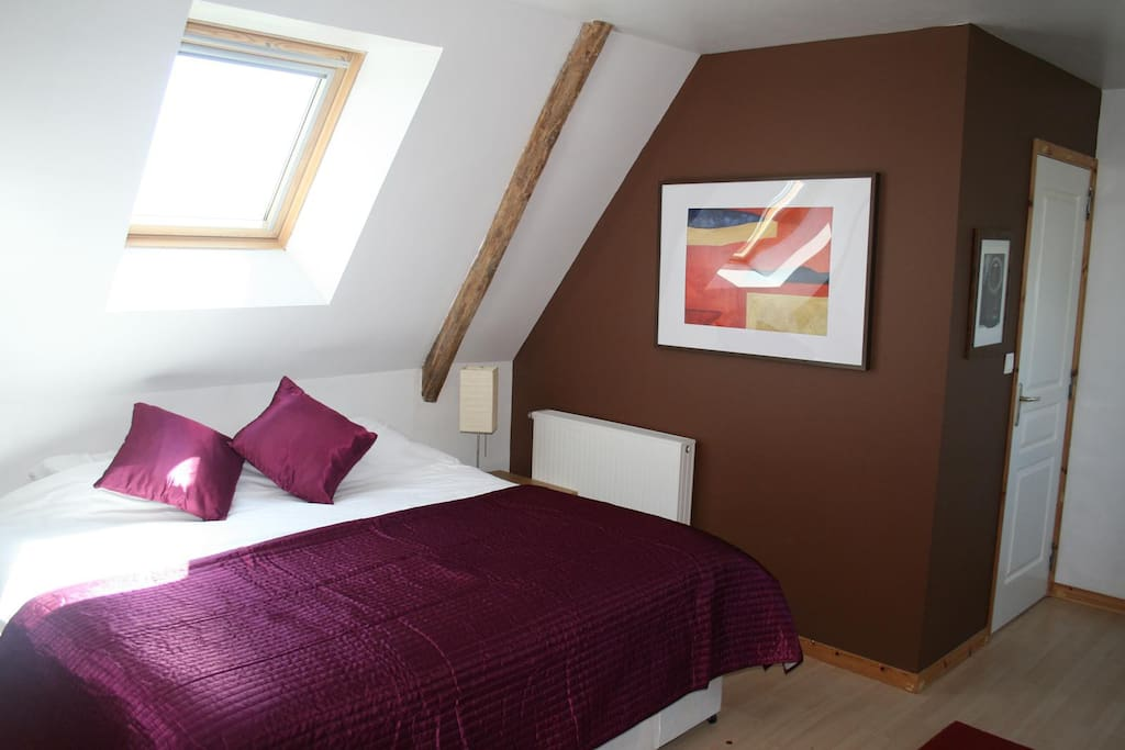 Top Floor master bedroom can be large singles or Kingsize