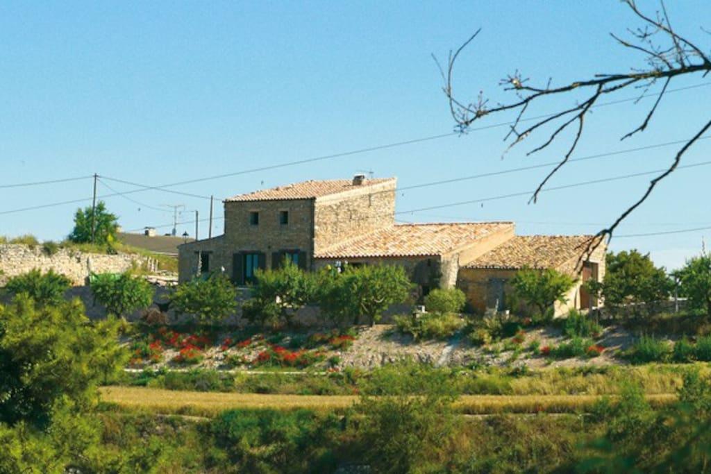 Casa rural en plena naturaleza cottage in affitto a llorac la cirera tarragona catalogna - Casa rural can salva ...
