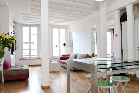 Family Apartment Le Marais  80 m2