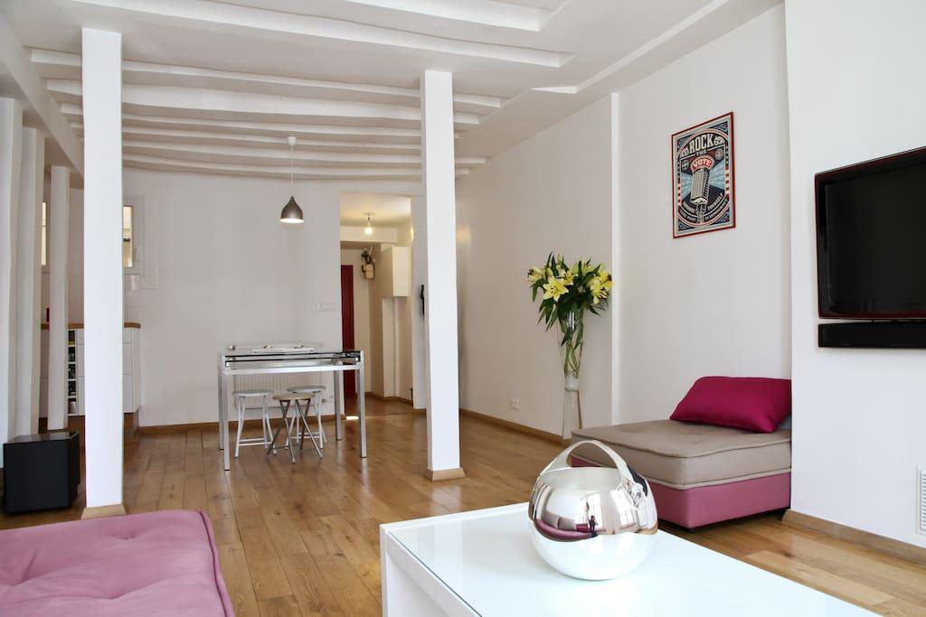 Family Apartment Le Marais  80 m2