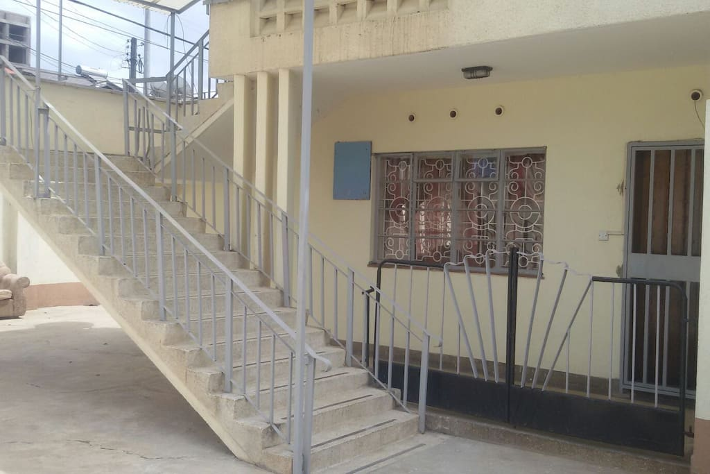 Secure stair case
