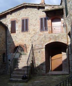 app.to indipendente vicino SIENA - San Lorenzo A Merse - Квартира