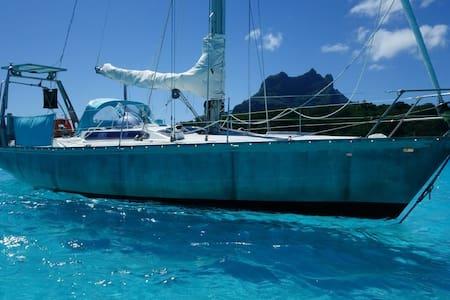 Bora Bora's Lagoon Room - Vaitape - Barco
