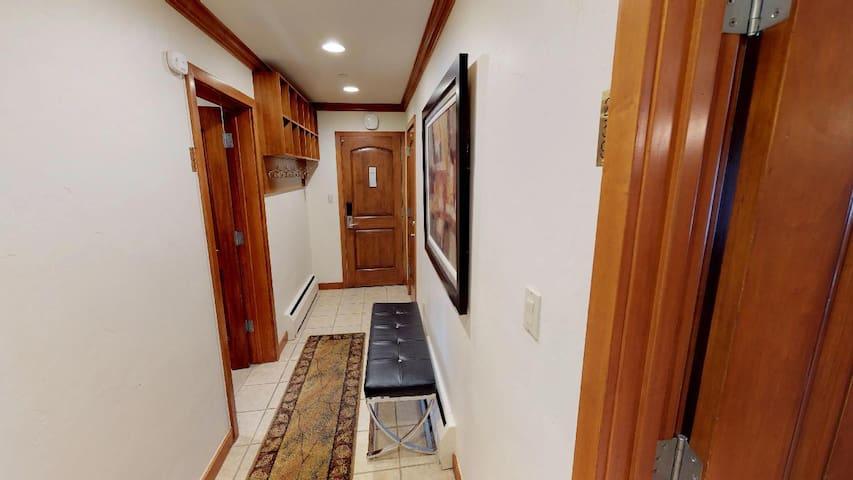 Hallway & entry