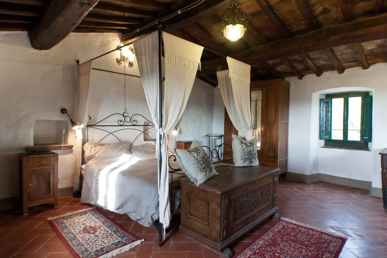 Camera da letto della torre
