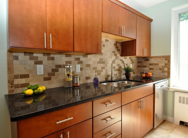 Beautiful , Cozy 1 Br with Parking - Brookline - Apartment