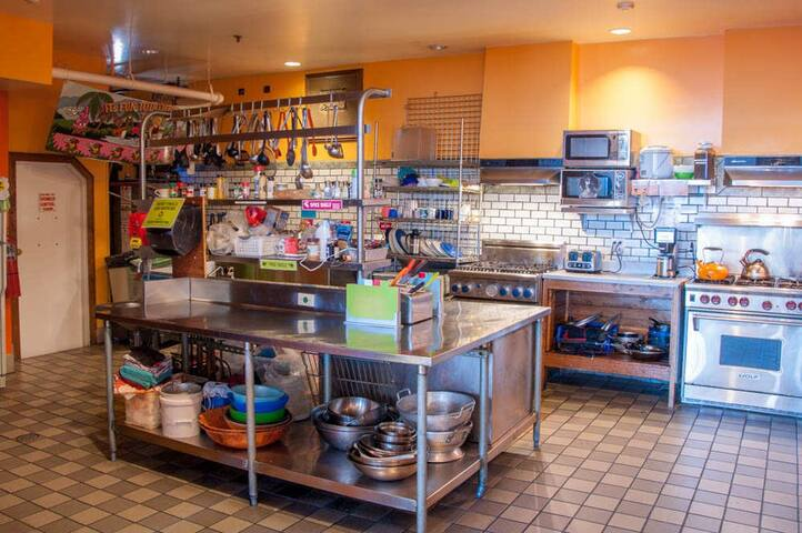 Our fully equipped kitchen!