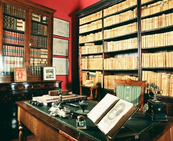 La storica biblioteca