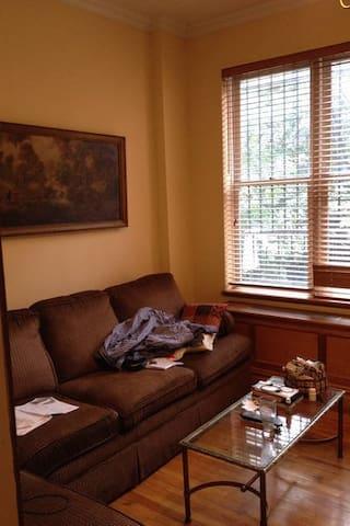Living room, facing garden