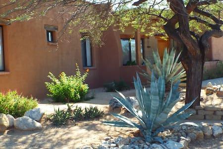Adobe Hacienda with Gorgeous Views  - Rumah