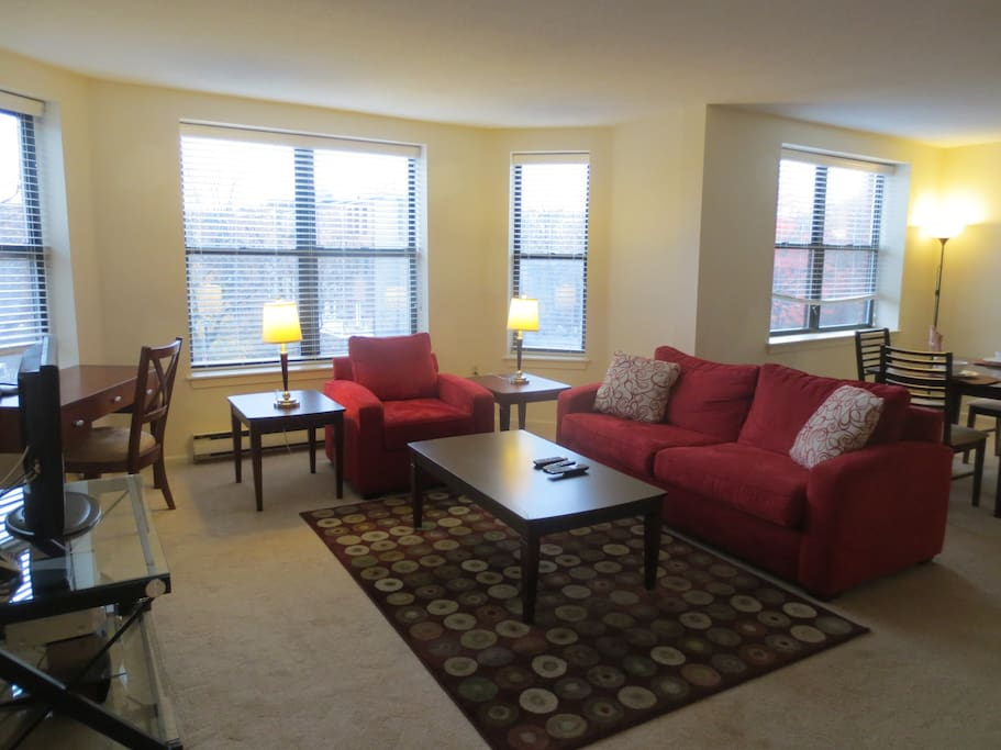lux 2 bedroom in post war back bay building w wifi apartments for