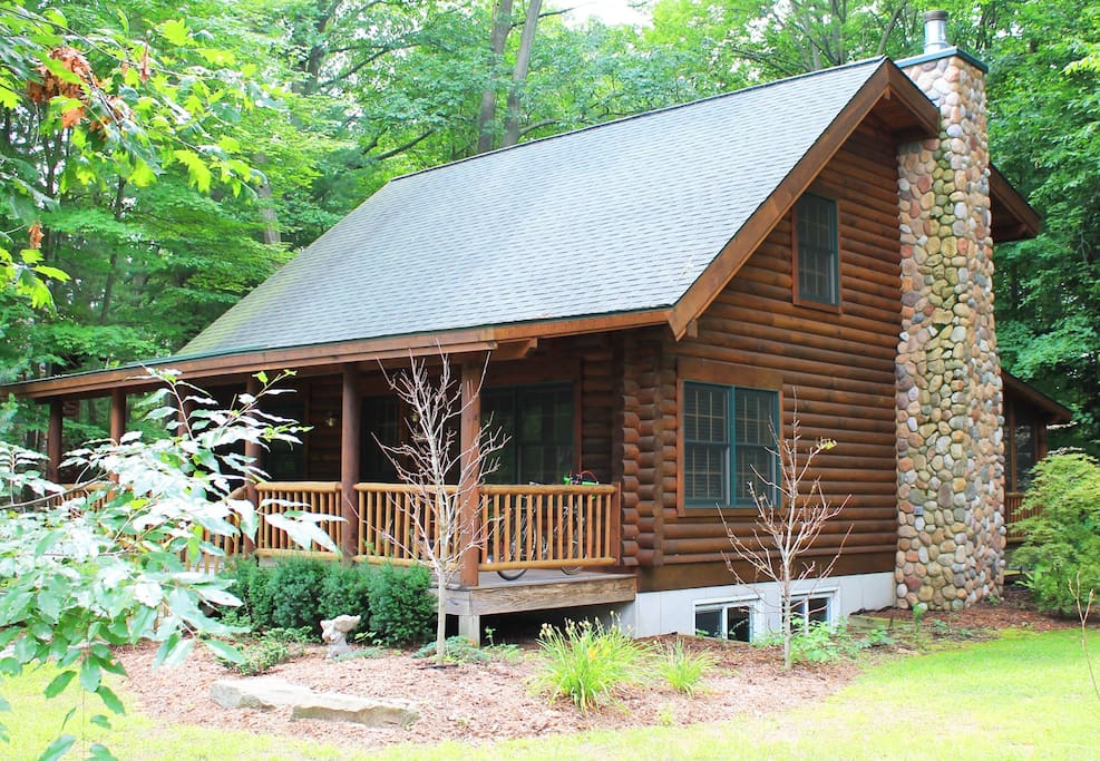 Road Runner Cabin Luxury Log Cabin Cabins For Rent In