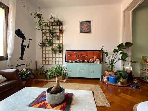Quarto Baobá em Casa Verde