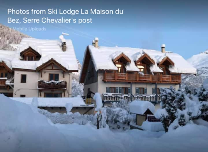 Ski lodge Maison du Bez, breakfast and dinner incl