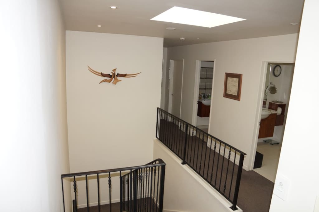 Hallway and access stairs