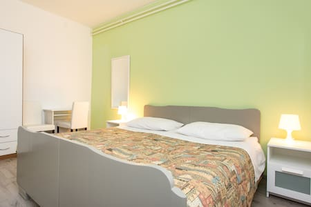 Green double Bedroom near Rijeka - Matulji - Rumah