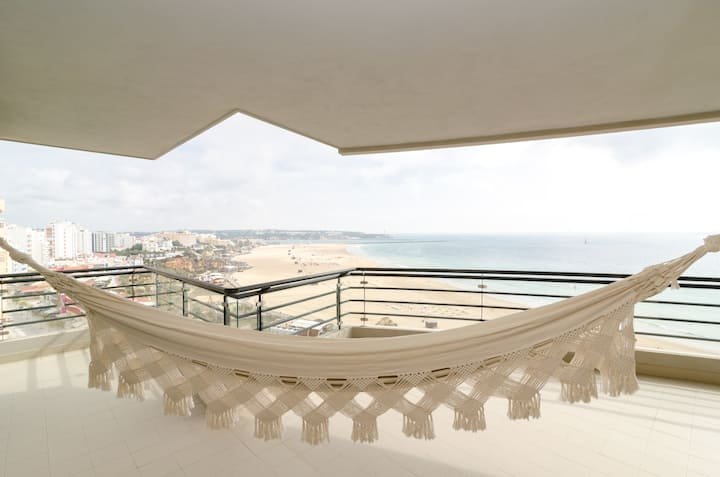 Stunning view of Praia da Rocha