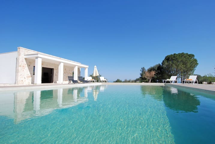 Villa Maremonti: Modern Villa with Private Pool in Monopoli - Monopoli - Villa
