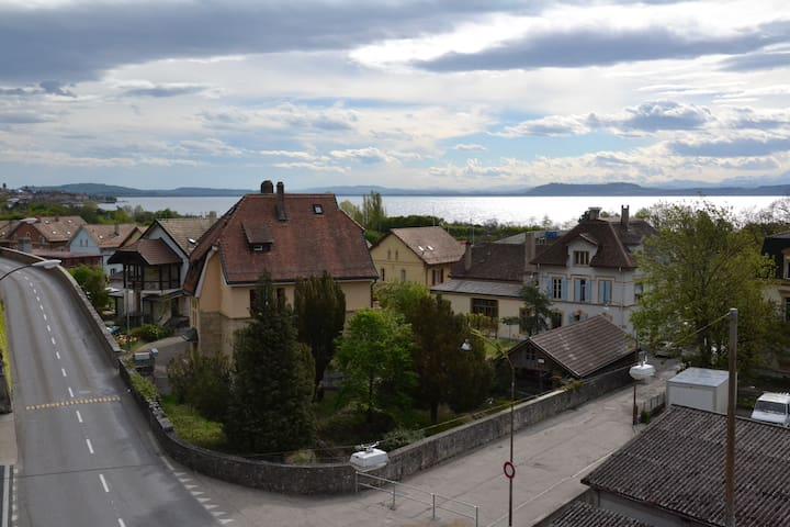Nice apartment with lake view - Neuchâtel - Apartment