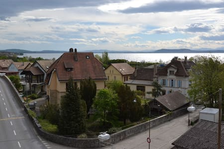 Nice apartment with lake view - Neuchâtel - Apartemen
